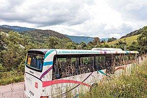 35.9 km kilomètres sont parcourus en moyenne par habitant et par an sur le réseau Synchro bus.  © Didier Gourbin