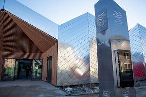 La nouvelle piscine aqualudique du Stade Auvergne - Rhône-Alpes.  Tommaso Morello/Grand Chambéry